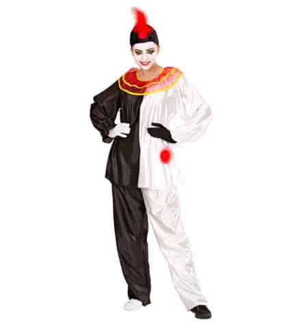 DEGUISEMENT DE PIERROT (Costume, col, chapeau) Tailles adultes - Démo vidéo