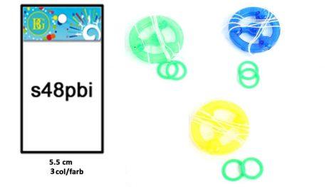 RONFLEUR SIFFLEUR (Diamètre 5.5 cm - 3 coloris)