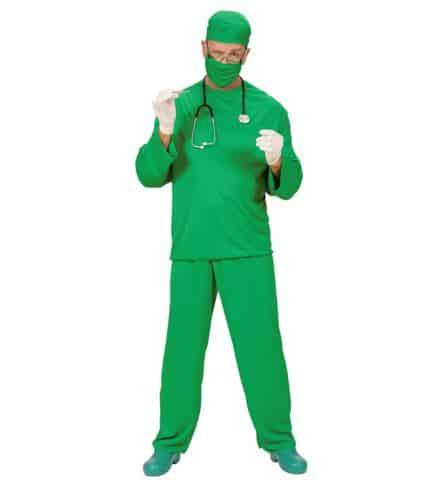 CHIRURGIEN BLOC HÔPITAL (Costume, calot et masque) Tailles adultes - Démo vidéo