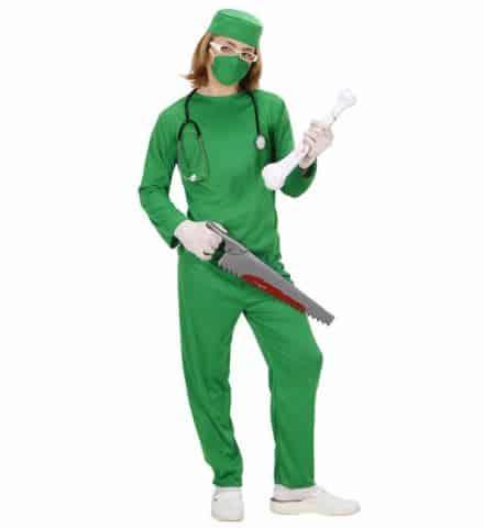 JEUNE CHIRURGIEN BLOC (Costume, coiffe, masque) Tailles enfants de 5 à 13 ans