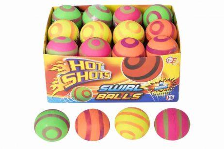 BALLES REBONDISSANTES (Assortiment 4 coloris)