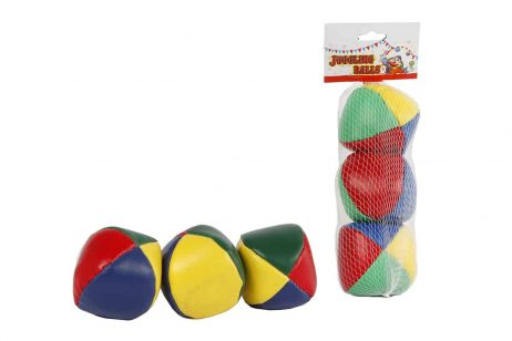TRIO BALLES A JONGLER (Pack 3 balles de jonglage)