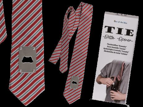 CRAVATE OUVRE BOUTEILLE (Cravate avec décapsuleur)
