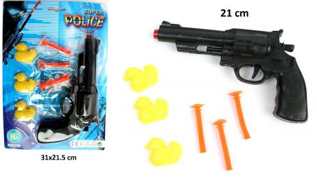 JEU DE TIR AU CANARDS (Pistolet 21 cm et flèches)