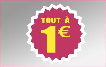 Tout à 1 euro
