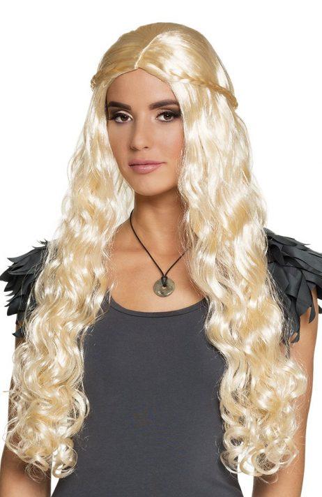 PERRUQUE DRAGON QUEEN (La reine des dragons)