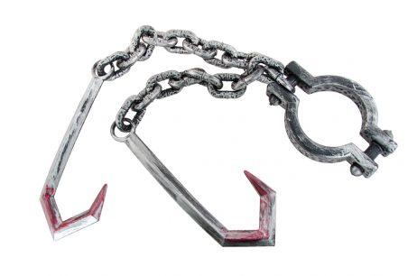 CHAÎNE AVEC CROCHETS (Double chaîne 80 cm)