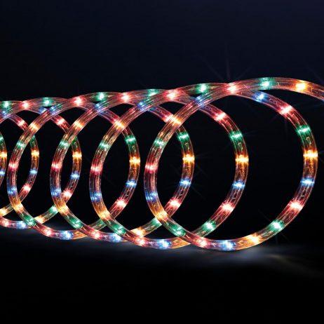 TUBE LUMINEUX DE NOEL (Taille 40 mètres - 2 coloris) Guirlande électrique