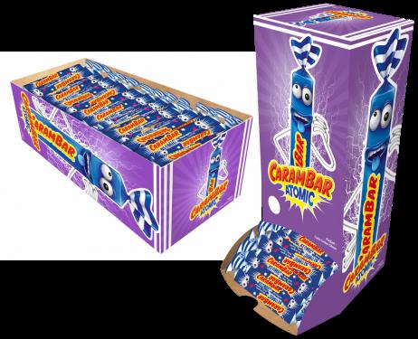 BOITE DE CARAMBAR ATOMIC (Boite de 180 bonbons)