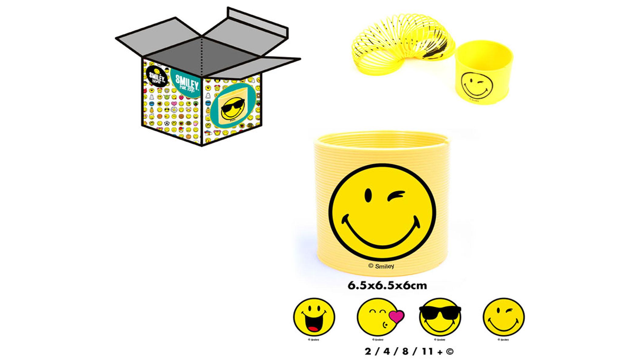 Ressort Magique Smiley Theme Emoticones 6 Cm Ced
