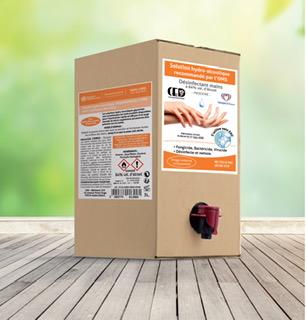 GEL HYDRO ALCOOLIQUE (Distributeur de 3 litres) Désinfectant mains inodore