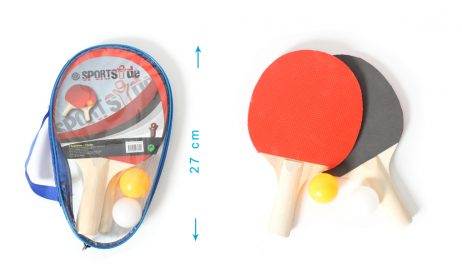 SET DE TENNIS DE TABLE (Pack 2 raquettes + 2 balles) Ping pong