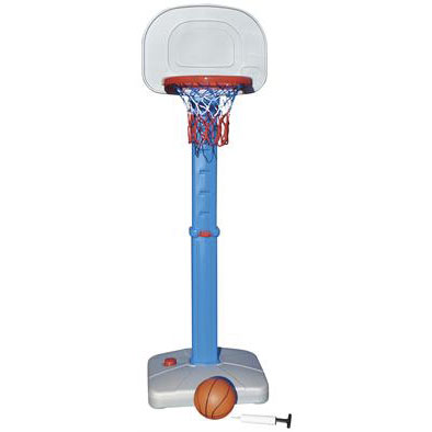 set de basket ball (panneau + ballon + pompe)