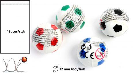 BALLE REBONDISSANTES (Ballons de foot 32 mm)