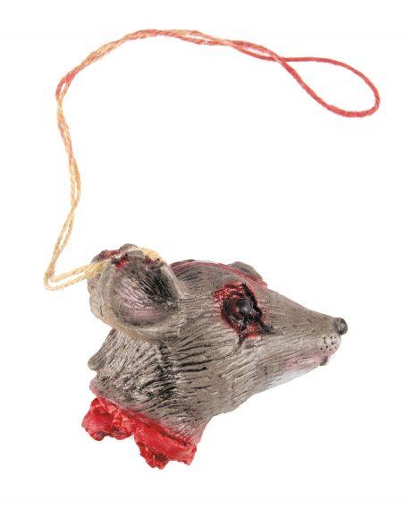 COLLIER TÊTE DE RAT