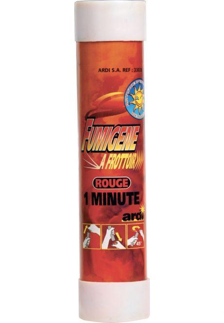 FUMIGÈNES A MAIN 1 MN (avec frottoir - 7 coloris) Fumigènes à frottoir