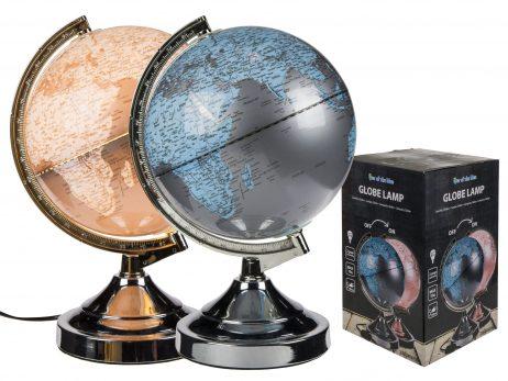LAMPE GLOBE TERRESTRE (Diamètre 31 cm)