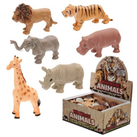 ANIMAUX DE LA JUNGLE (Pack 12 animaux anti stress)