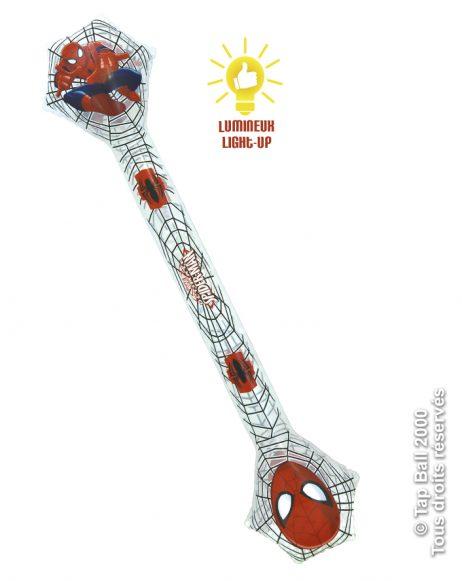 BAGUETTE ÉTOILE GONFLABLE (Modèle Spiderman) Baguette lumineuse 67 cm