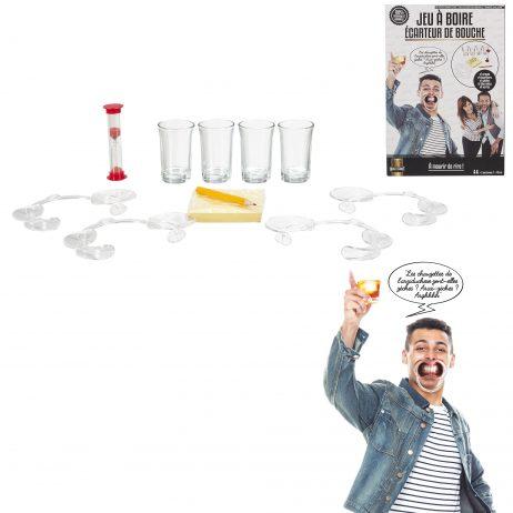 ÉCARTEUR DE BOUCHE (Spécial jeu à boire)