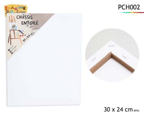 CHÂSSIS ENTOILÉ (Dimension 30 x 24 cm)