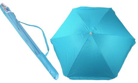 PARASOL COULEUR FUN (Diamètre 2 m - 3 coloris) Housse de protection